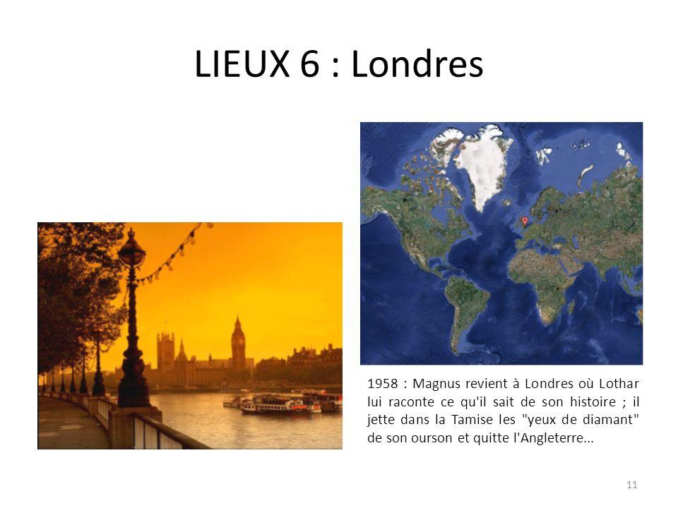 LIEUX 6 : Londres