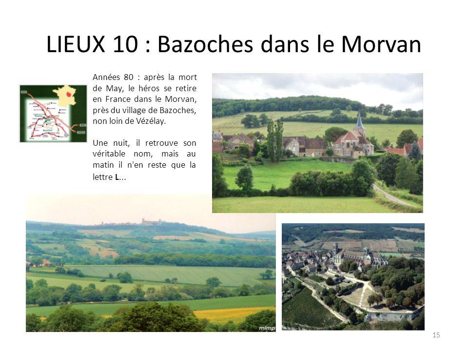 LIEUX 10 : Bazoches dans le Morvan