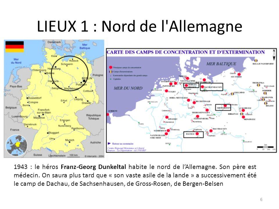 LIEUX 1 : Nord de l Allemagne
