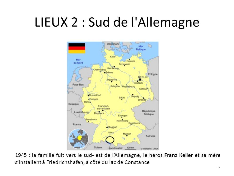 LIEUX 2 : Sud de l Allemagne