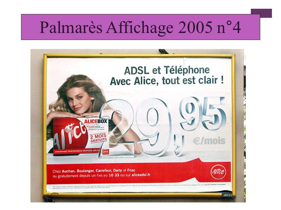 Palmarès Affichage 2005 n°4