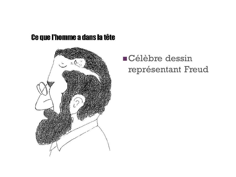 Célèbre dessin représentant Freud