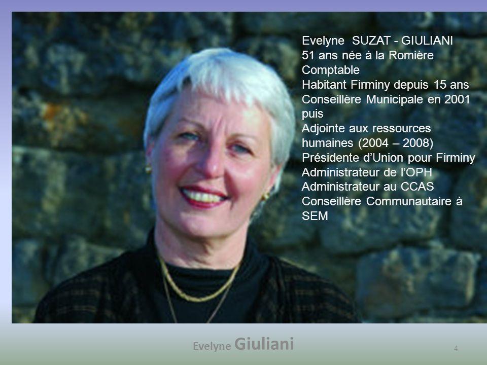 Evelyne SUZAT - GIULIANI 51 ans née à la Romière Comptable