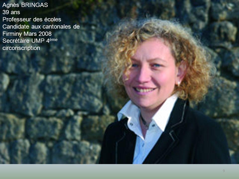 Candidate aux cantonales de Firminy Mars 2008