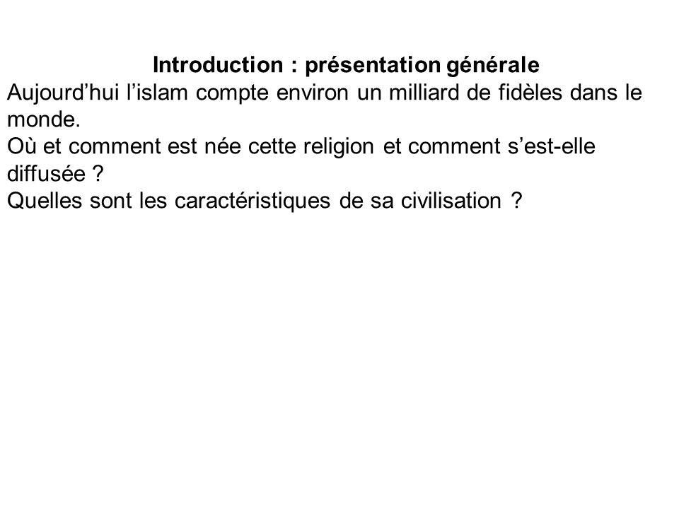 Introduction : présentation générale