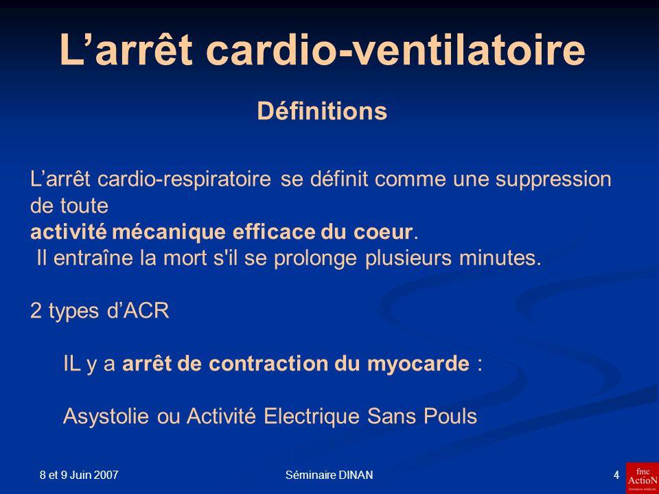 L'arrêt cardio-ventilatoire