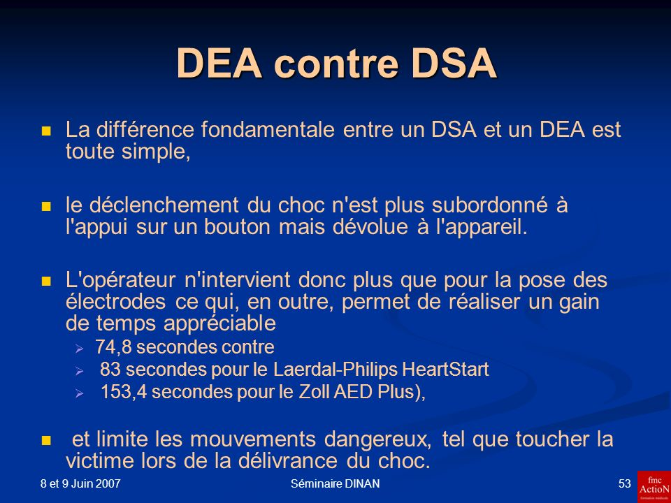 DEA contre DSA La différence fondamentale entre un DSA et un DEA est toute simple,