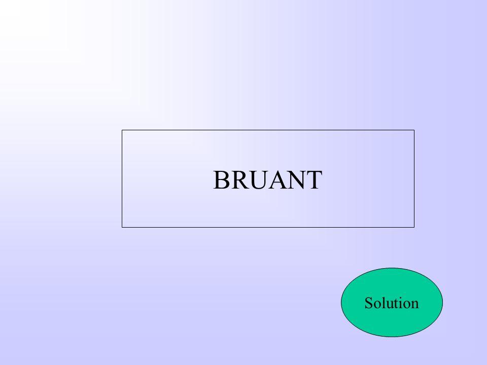 BRUANT Solution
