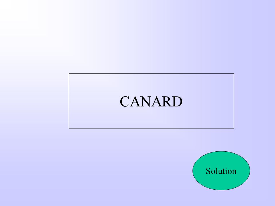 CANARD Solution
