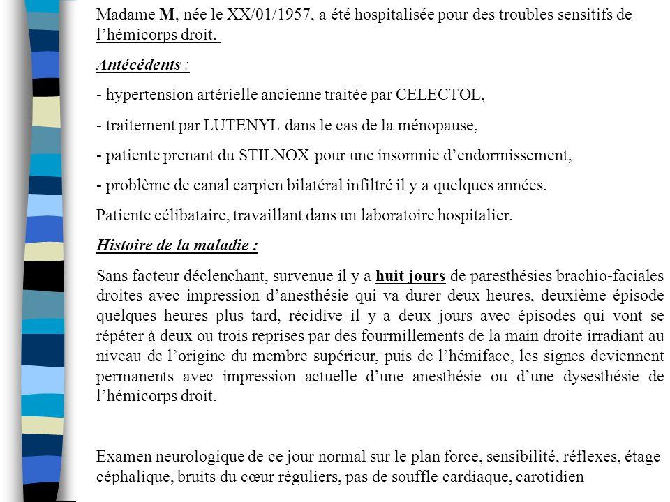 - hypertension artérielle ancienne traitée par CELECTOL,