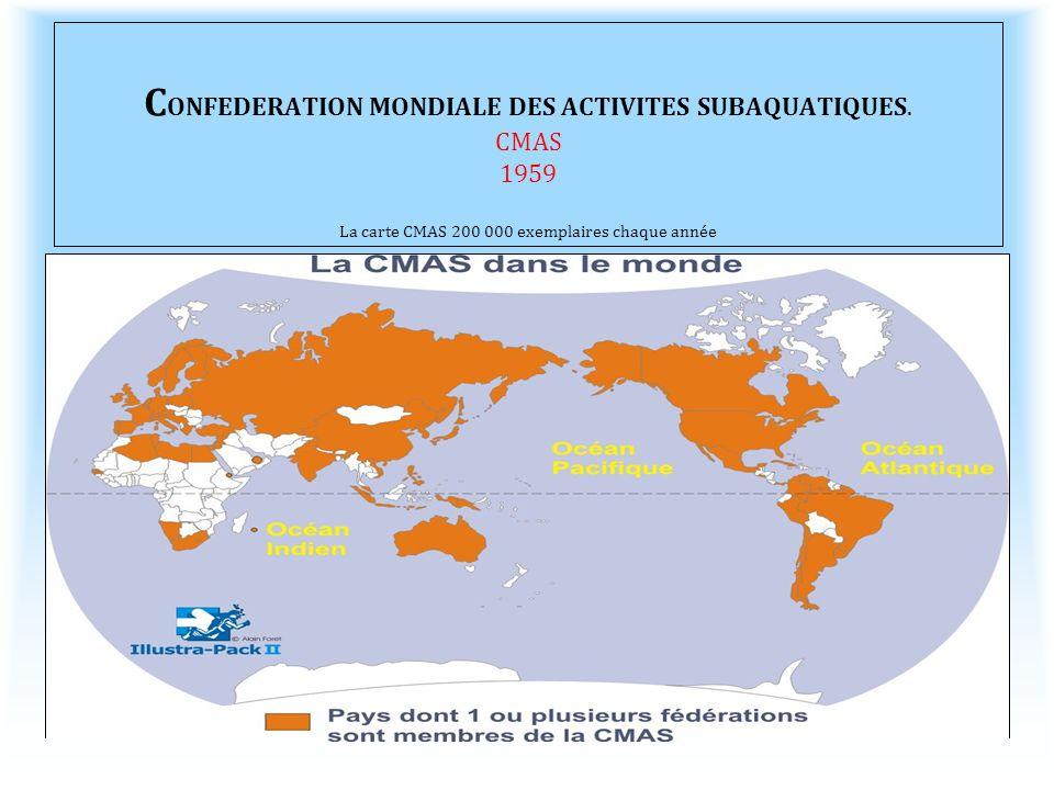 CONFEDERATION MONDIALE DES ACTIVITES SUBAQUATIQUES