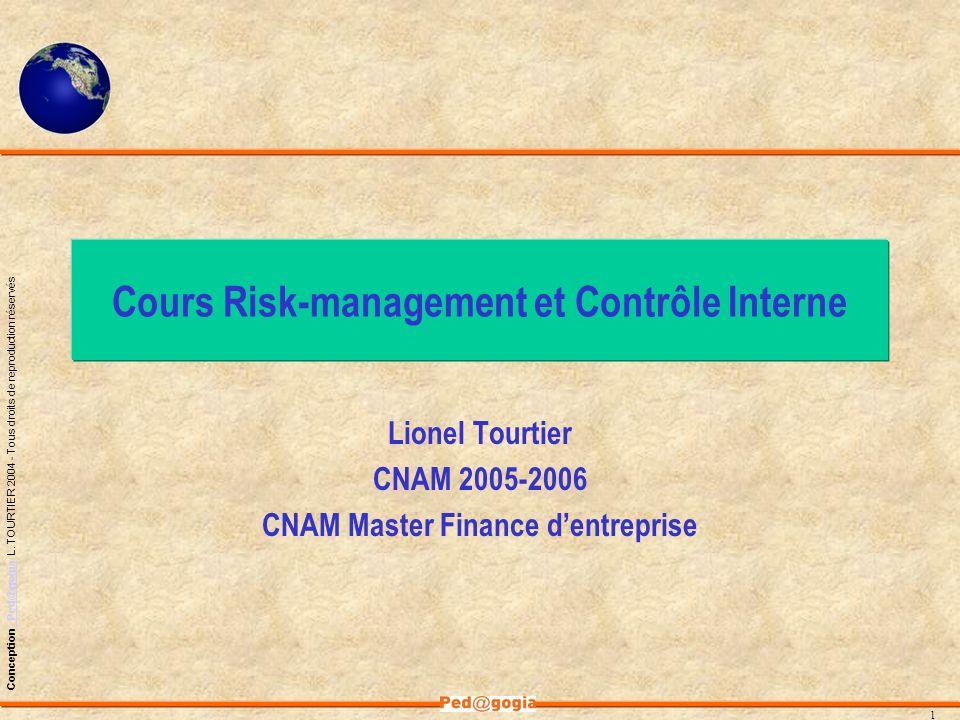 Cours Risk-management et Contrôle Interne