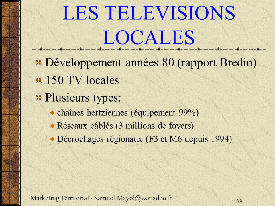 LES TELEVISIONS LOCALES