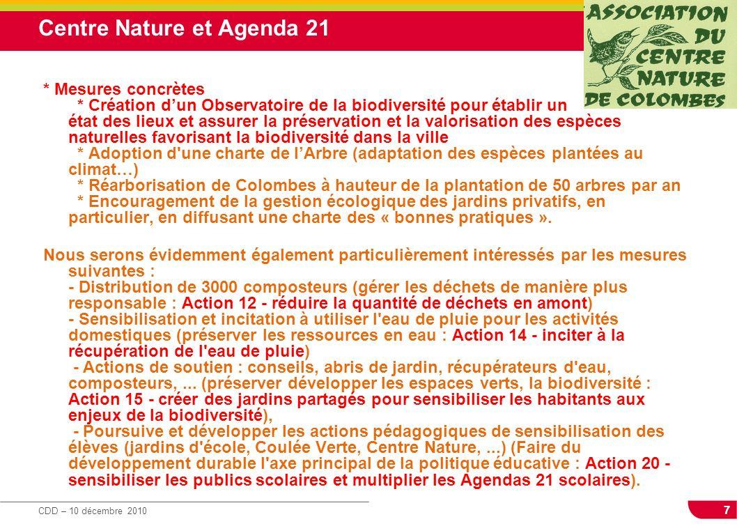 Centre Nature et Agenda 21