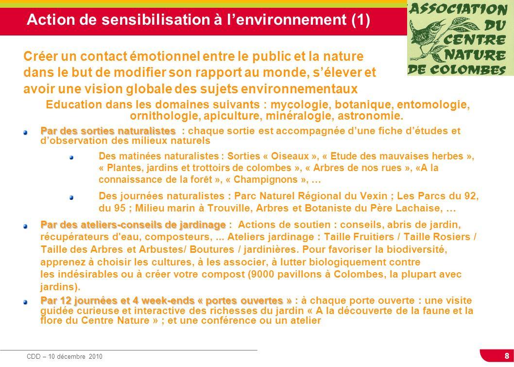 Action de sensibilisation à l'environnement (1)
