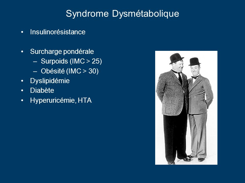 Syndrome Dysmétabolique