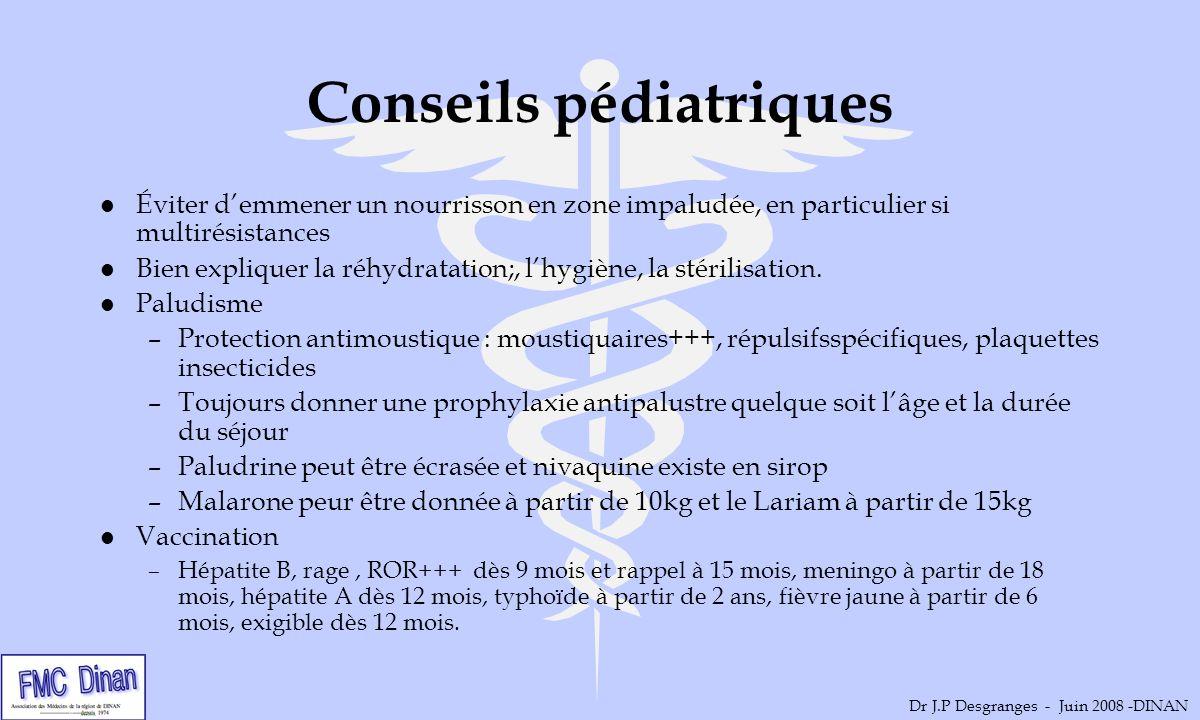 Conseils pédiatriques