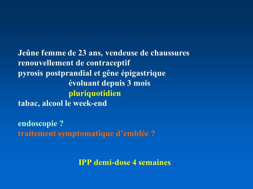 IPP demi-dose 4 semaines