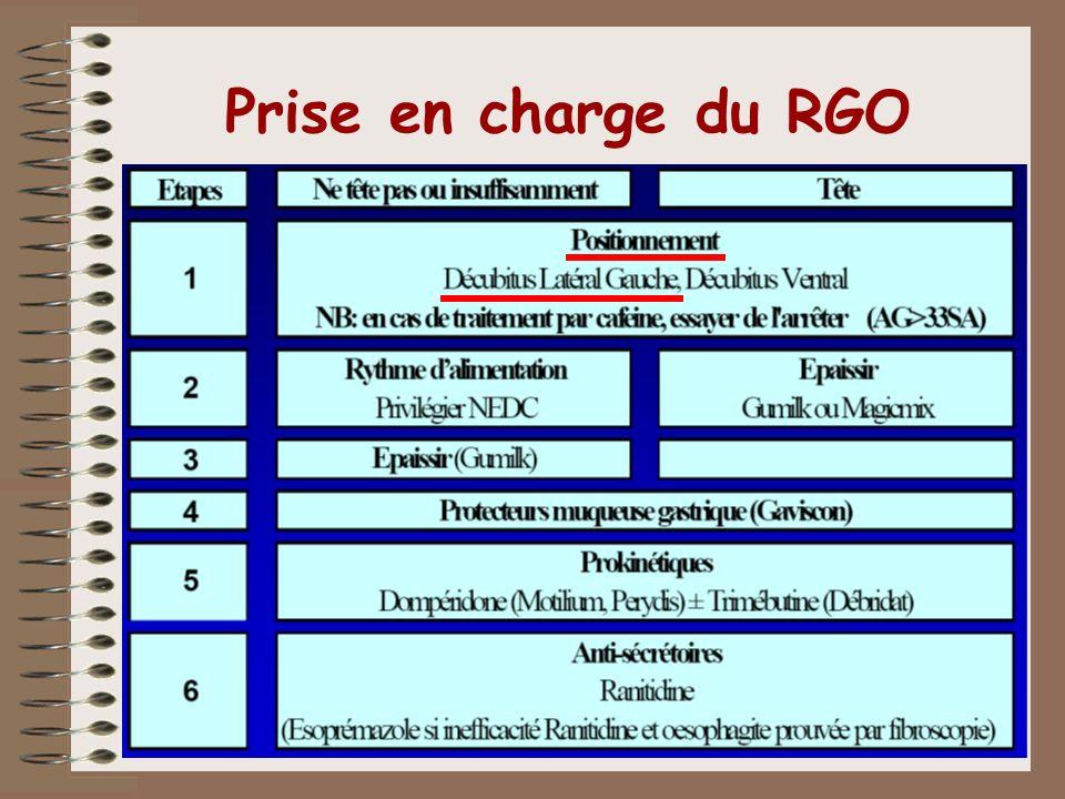 Prise en charge du RGO