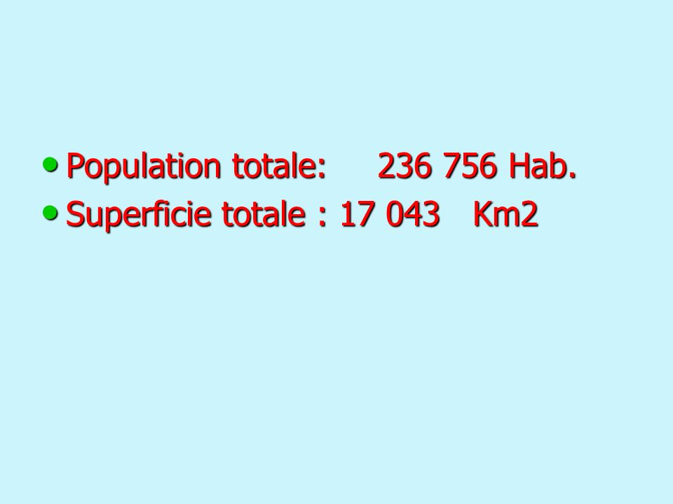 Population totale: 236 756 Hab.