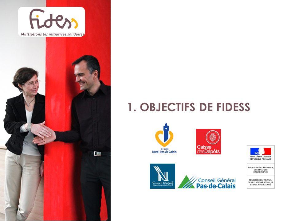 1. OBJECTIFS DE FIDESS