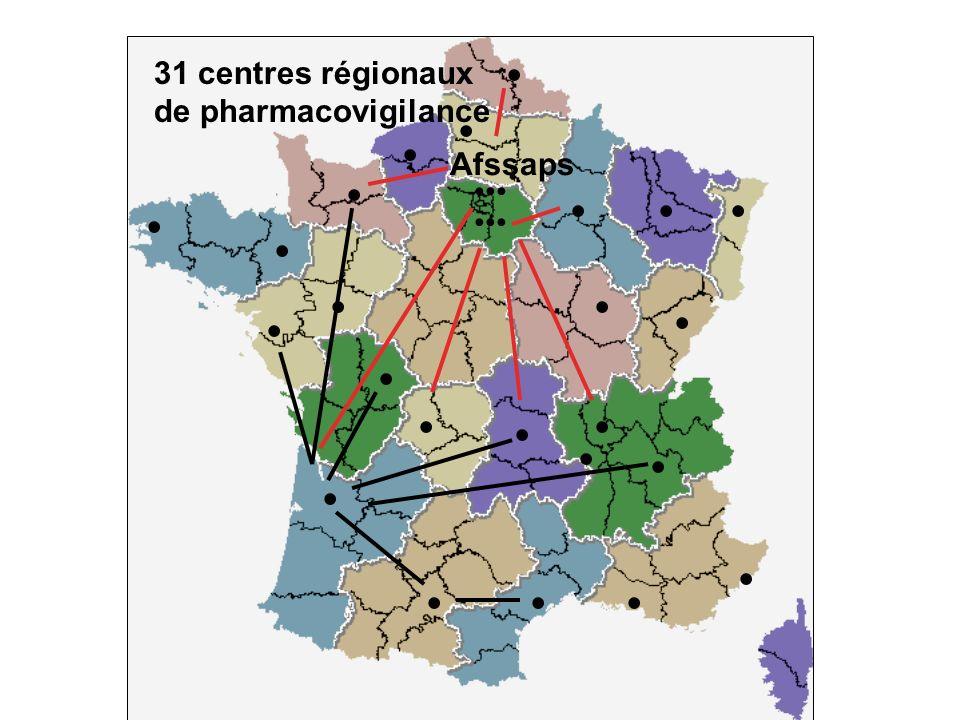 • • • • • • • • • • • • • • • • • • • • • • • • 31 centres régionaux