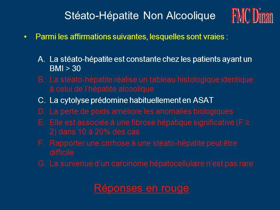 Stéato-Hépatite Non Alcoolique