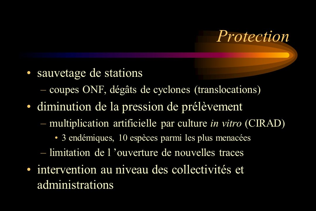 Protection sauvetage de stations
