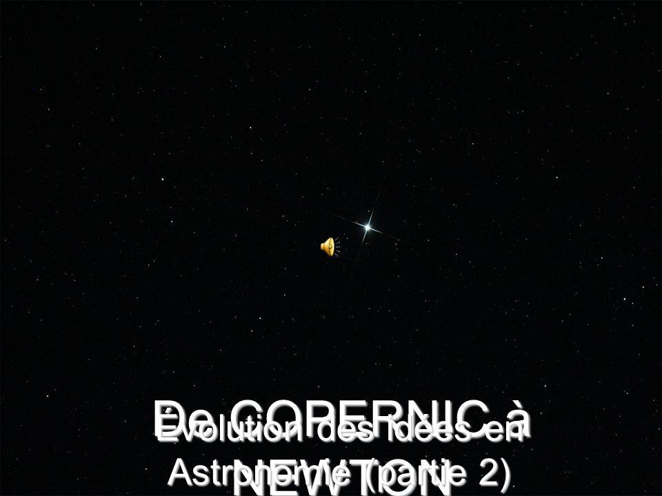 Évolution des idées en Astronomie (partie 2)