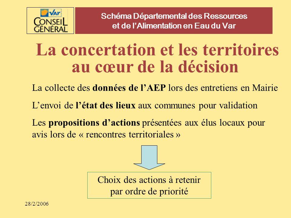La concertation et les territoires au cœur de la décision