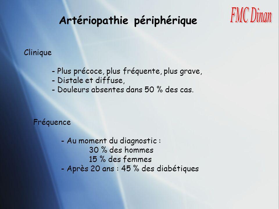 Artériopathie périphérique