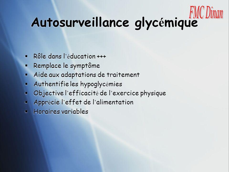 Autosurveillance glycémique