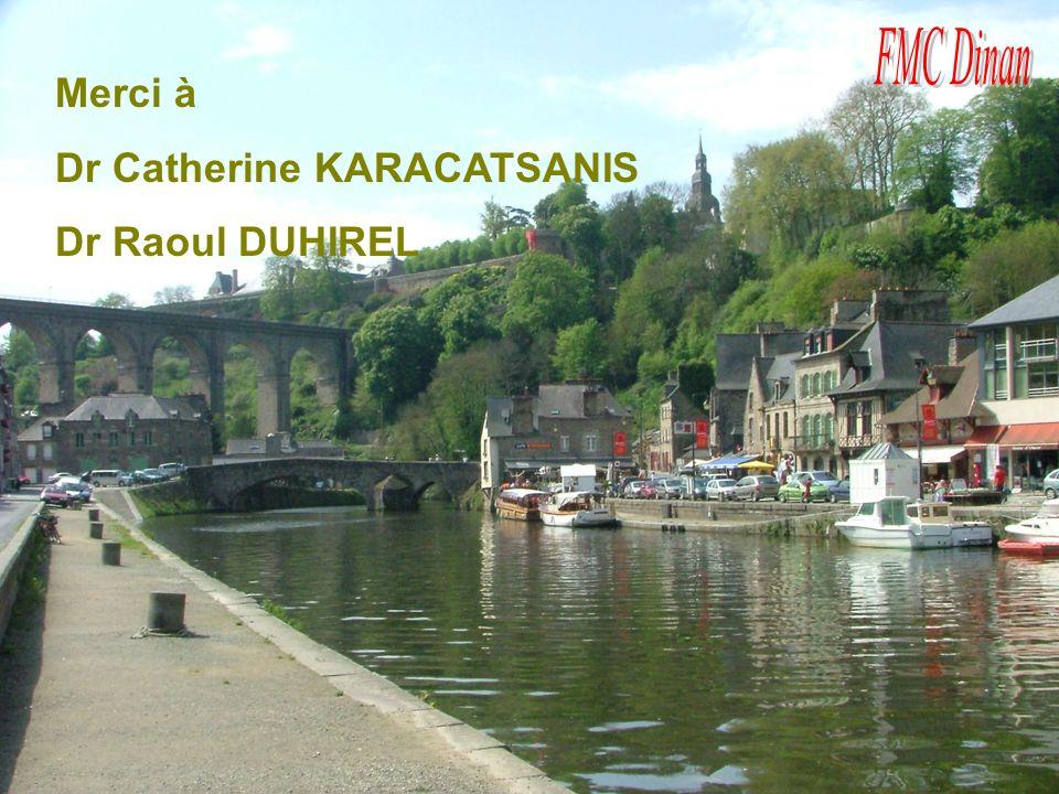Dr Catherine KARACATSANIS Dr Raoul DUHIREL