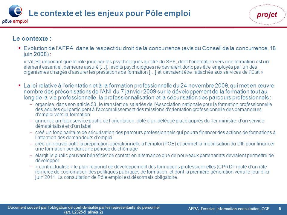 Le contexte et les enjeux pour Pôle emploi