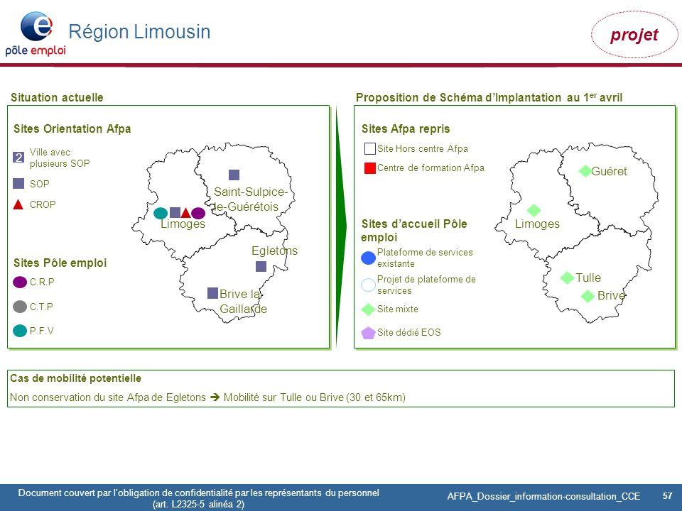 Région Limousin 2 Guéret Saint-Sulpice-le-Guérétois Limoges Limoges