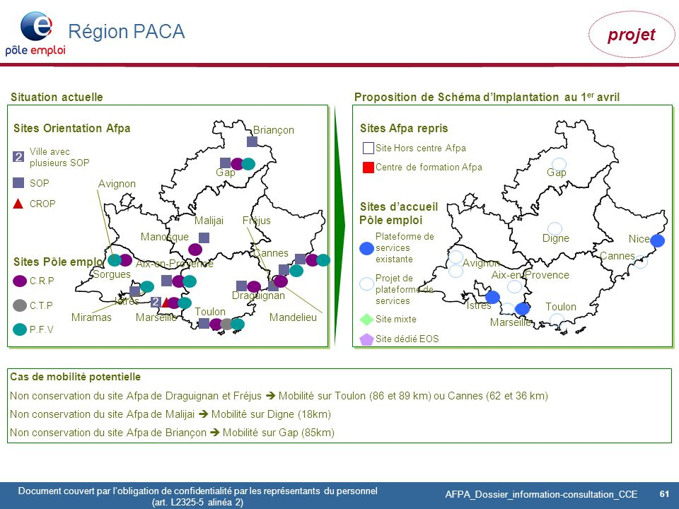 Région PACA 2 Situation actuelle