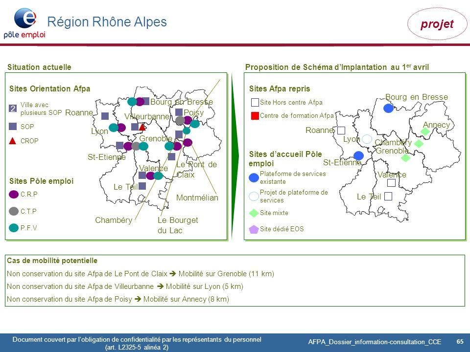 Région Rhône Alpes Bourg en Bresse Bourg en Bresse 2 Roanne Poisy