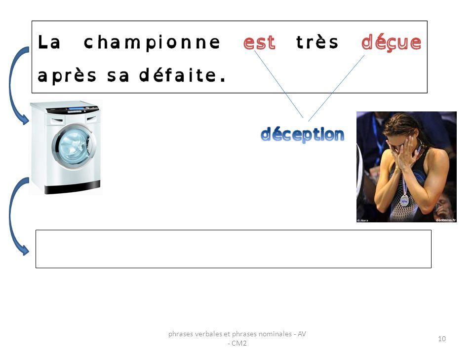 phrases verbales et phrases nominales - AV - CM2