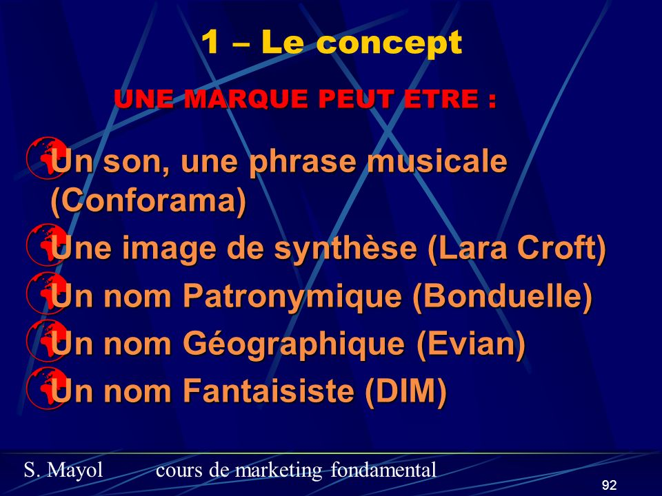 Un son, une phrase musicale (Conforama)