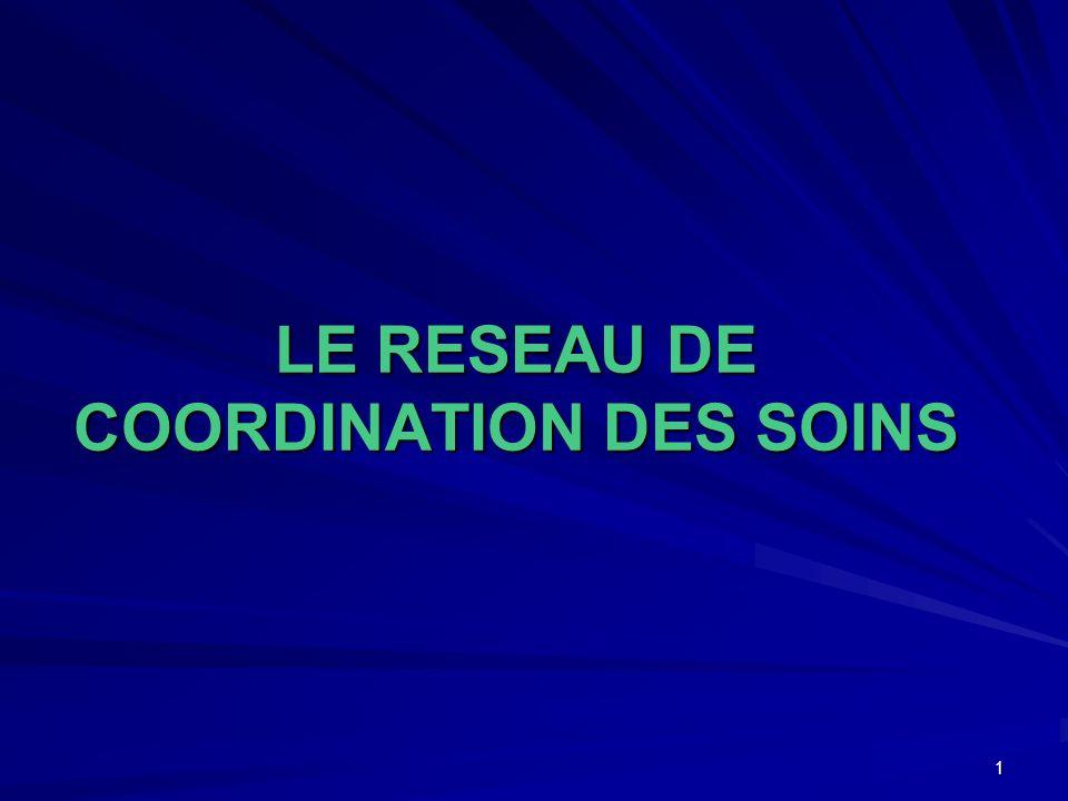 LE RESEAU DE COORDINATION DES SOINS