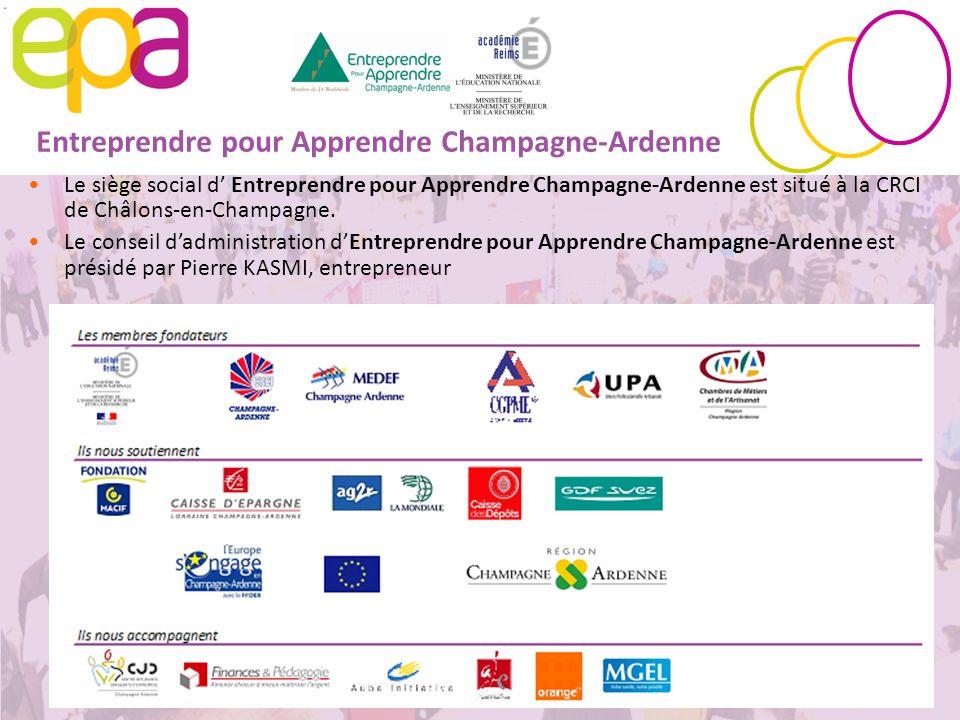 Entreprendre pour Apprendre Champagne-Ardenne