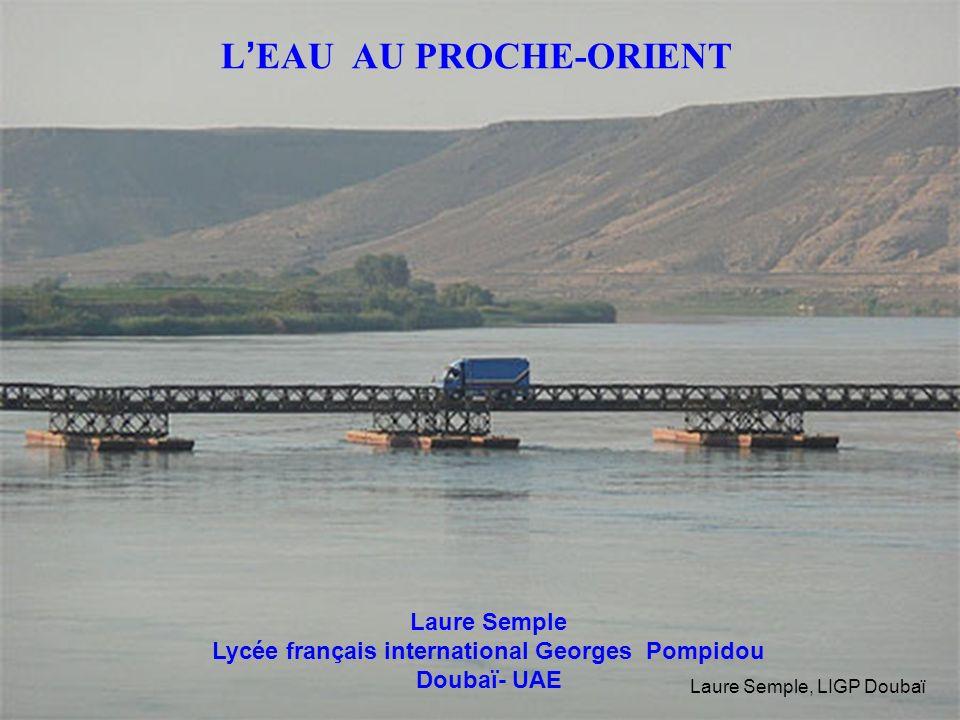 L'EAU AU PROCHE-ORIENT