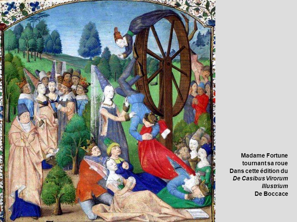 Madame Fortune tournant sa roue