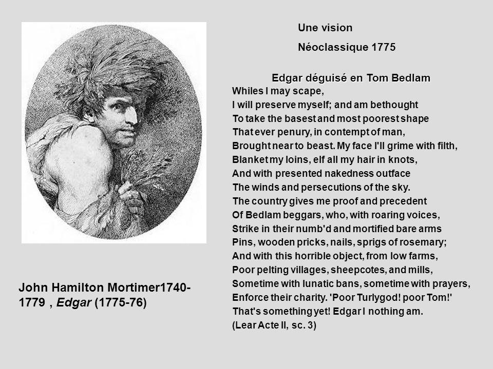 Edgar déguisé en Tom Bedlam