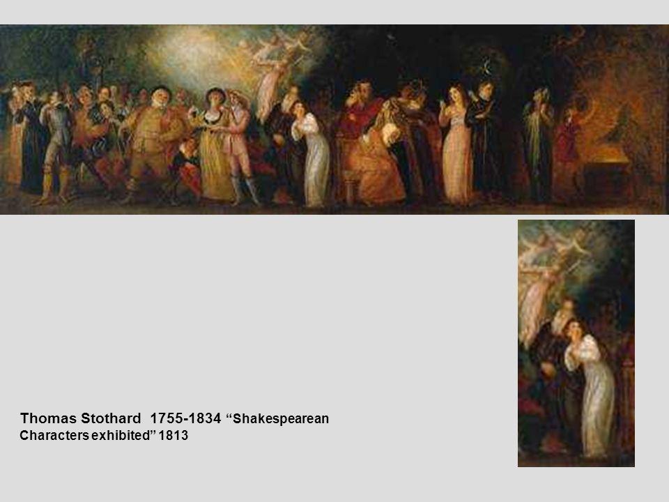Thomas Stothard 1755-1834 Shakespearean Characters exhibited 1813