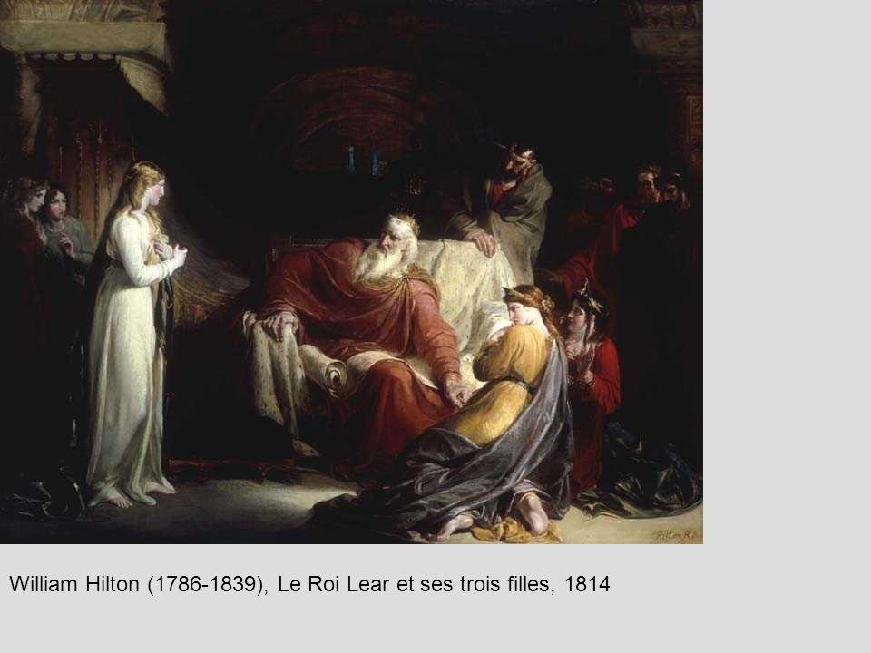 William Hilton (1786-1839), Le Roi Lear et ses trois filles, 1814