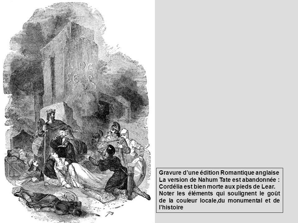 Gravure d'une édition Romantique anglaise