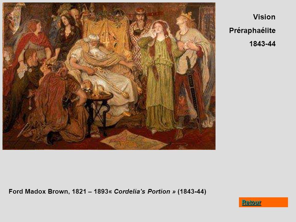 Vision Préraphaélite 1843-44