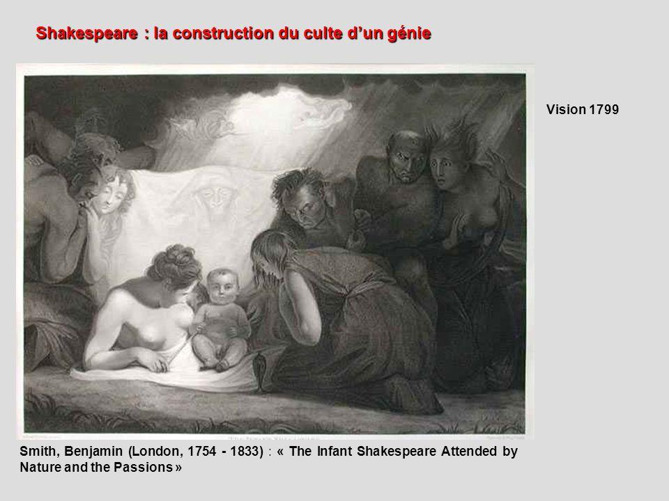 Shakespeare : la construction du culte d'un génie