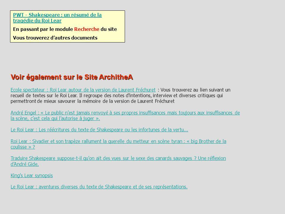 Voir également sur le Site ArchitheA